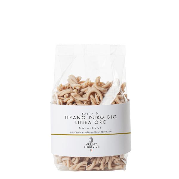 Caserecce Grano durobiologico italiano 500 gr